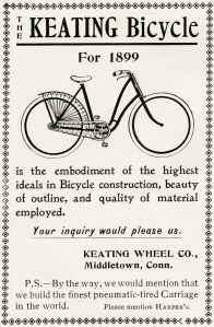 keating bicycle, antique bike, vintage bicycle graphic, free vintage clipart, old fashioned bicycle