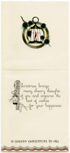 free vintage christmas image, old fashioned christmas card, antique greeting card, horse drawn carriage vintage clipart, old christmas illustration