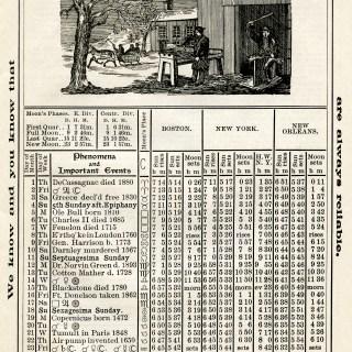 Free Vintage Image ~ Herrick's Almanac 1906, February