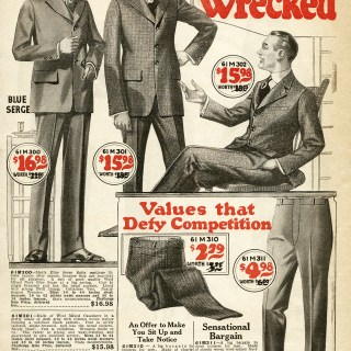 Free Vintage Image ~ 1920 Clothing for Men