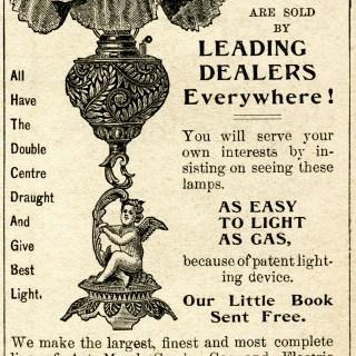 Free Vintage Image ~ Bradley & Hubbard Lamps