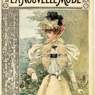 Free Vintage Image ~ La Nouvelle Mode Magazine Cover