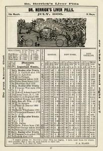 antique almanac, free digital graphics, herricks almanac, old digital paper, vintage printable