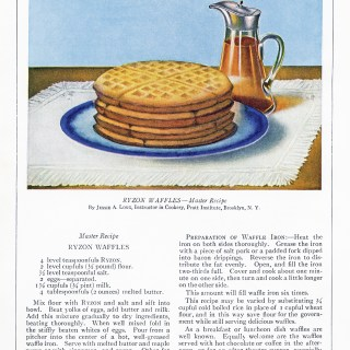 Free Vintage Image ~ Ryzon Waffles