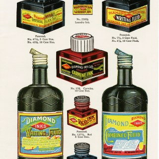 Free Vintage Image ~ Diamond Inks Page