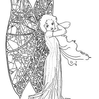 Free Vintage Image ~ Flitter-Flutter Fairy