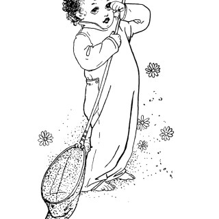 Free Vintage Image ~ Little Jo Storybook Character