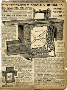 old catalogue page, vintage sewing clipart, black and white clip art, antique sewing machine image, aged digital paper graphics