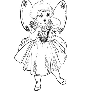 Free Vintage Image ~ Little Mignonette Storybook Character