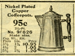 vintage coffee pot clipart, old fashioned coffee maker, black and white clip art, free digital graphics, antique catalog listing