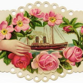 Victorian Calling Card ~ Free Image