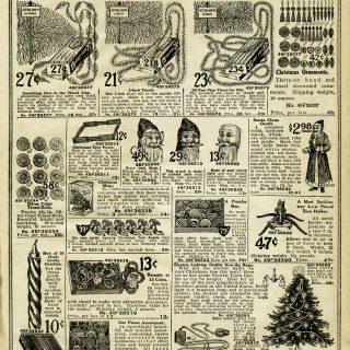 Vintage Christmas Decorating ~ Free Printable Catalogue Pages