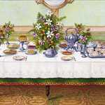 Now Available in my Etsy Shop ~ Mrs. Beeton's Tea Table