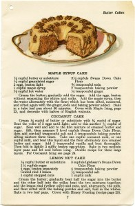 vintage cake clipart, baking clip art, maple syrup cake recipe, old fashioned cake recipe, dessert food printable