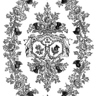 Ornamental Oval Design and Frame ~ Free Clip Art