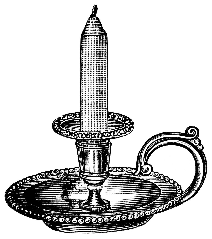 Vintage Candlestick 86