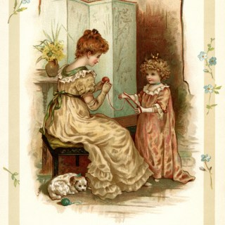 Trial of Patience ~ Free Vintage Storybook Image