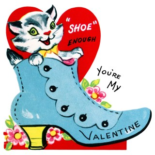 Shoe Enough Valentine ~ Free Clip Art