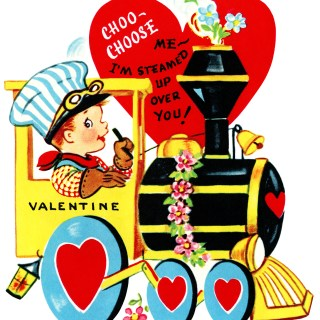Choo-Choose Me ~ Free Valentine Clip Art