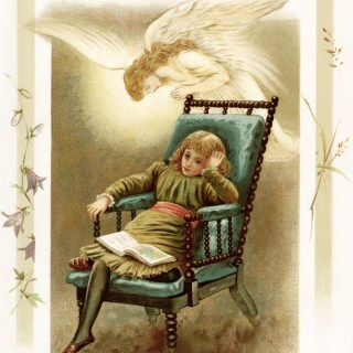 Angel's Whispers ~ Free Storybook Illustration