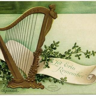 Clapsaddle St. Patrick's Day Vintage Postcard Image