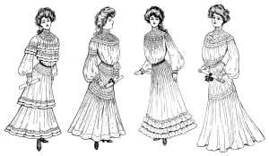 OldDesignShop_1904CommencementGowns3
