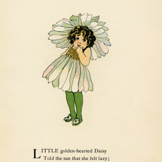 Daisy Flower Child by Elizabeth Gordon