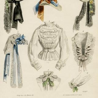 Le Moniteur de la Mode Fashion Plate ~ Free Image