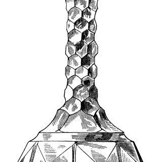 Antique Wine Decanters Clip Art