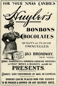 vintage magazine ads, huylers chocolate, vintage advertising clip art, gorham manufacturing co, antique Christmas ad, mason hamlin organ piano co