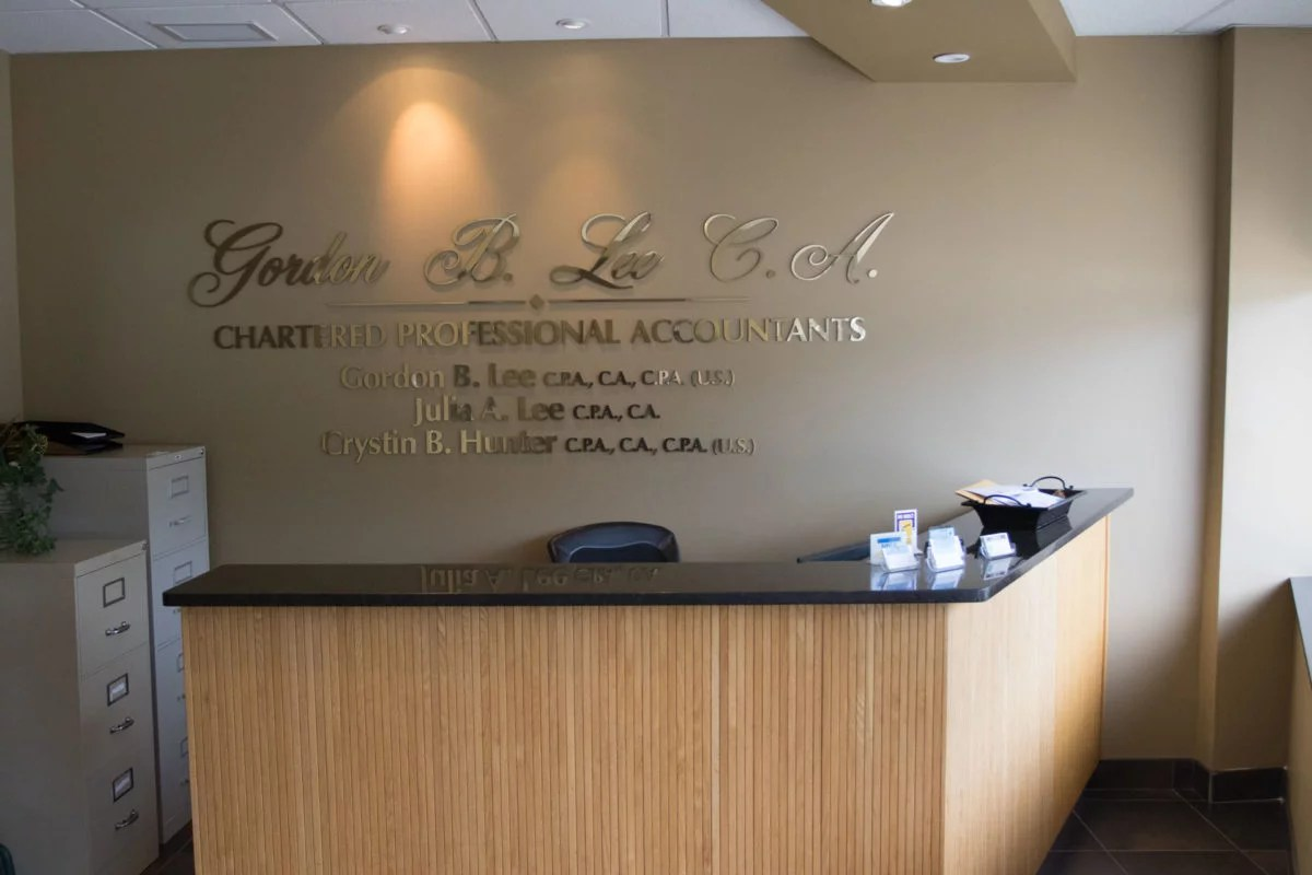 Chartered Accountant Cpa Gordon B Lee C A C P A Chartered Accountants Olde Riverside Bia