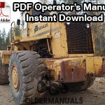 Fiat Allis FR30 Wheel Loader Operation & Maintenance Manual