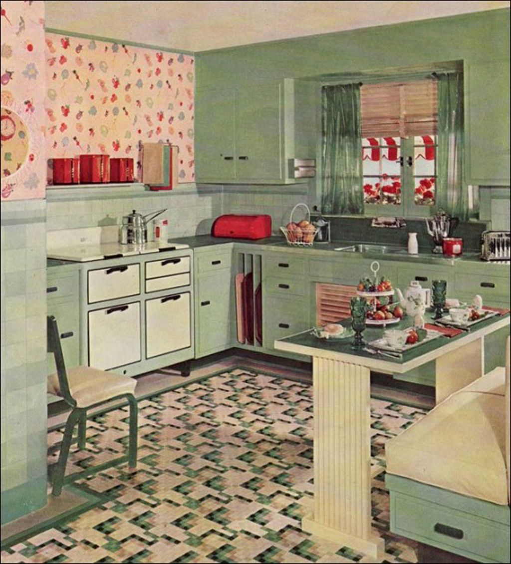Retro Keuken Top 10 Coolest Vintage Kitchens Old Fashioned Families