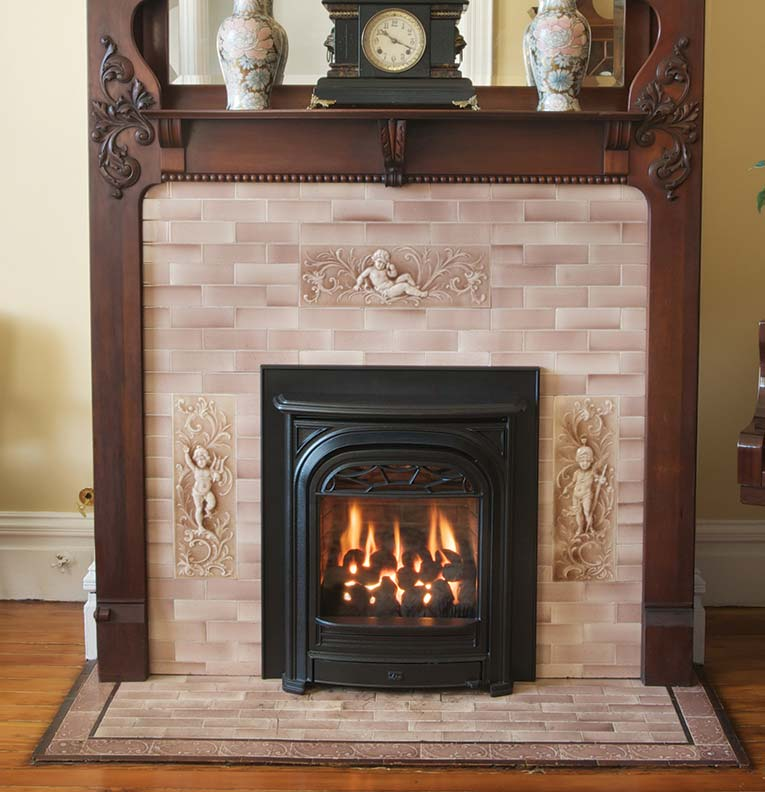 Electric Coal Fireplace The Latest In Fireplace Inserts Old House Journal Magazine