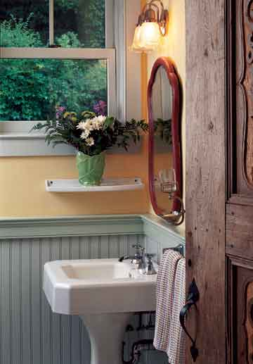 Bathroom Wainscoting Height 5 Wainscot & Wall Paneling Styles - Old House Restoration