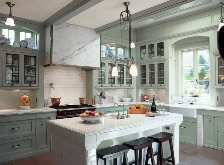 Kitchen Island With Cooktop And Prep Sink A Classic Kitchen For An Edwardian Renovation