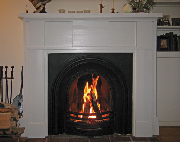 Modern Fireplace Insert Making Fireplaces Functional Again Old House Journal Magazine