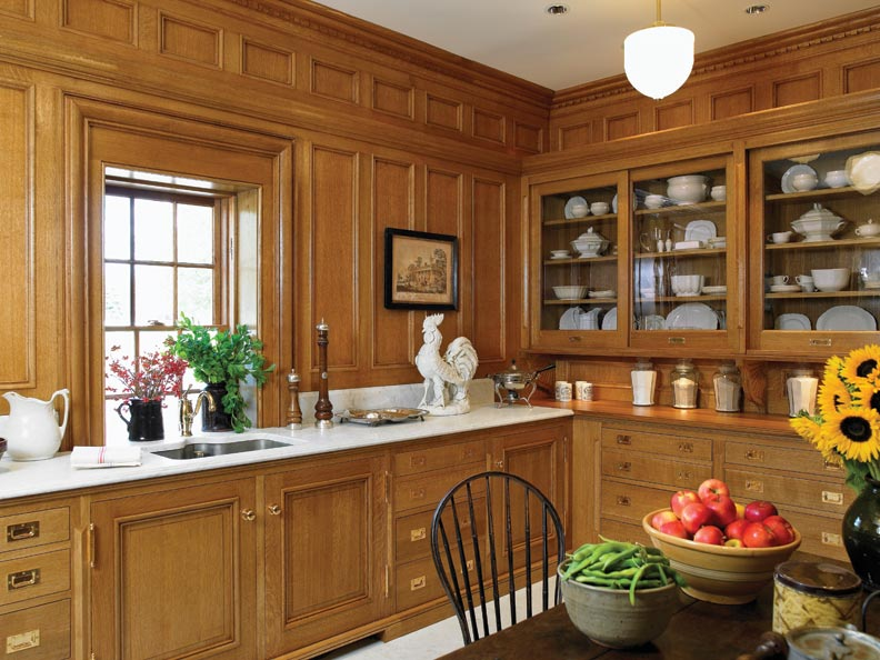 Sliding Kitchen Pantry Cabinet Re-creating A Stanford White Pantry - Old House Journal