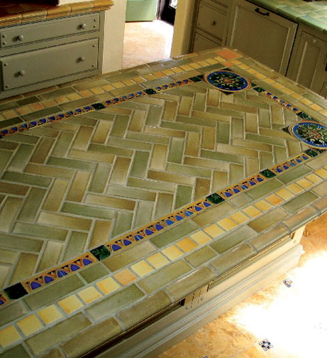 Spanish Tile Countertops Spanish Kitchen Makeover Old House Restoration Products