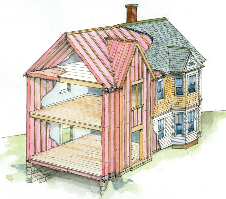 When Is It Too Cold To Paint Outside 7 Insulation Tips To Save Money & Energy - Old House