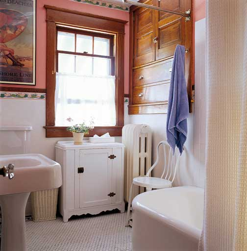How To Design A Small Bathroom Old House Journal Magazine