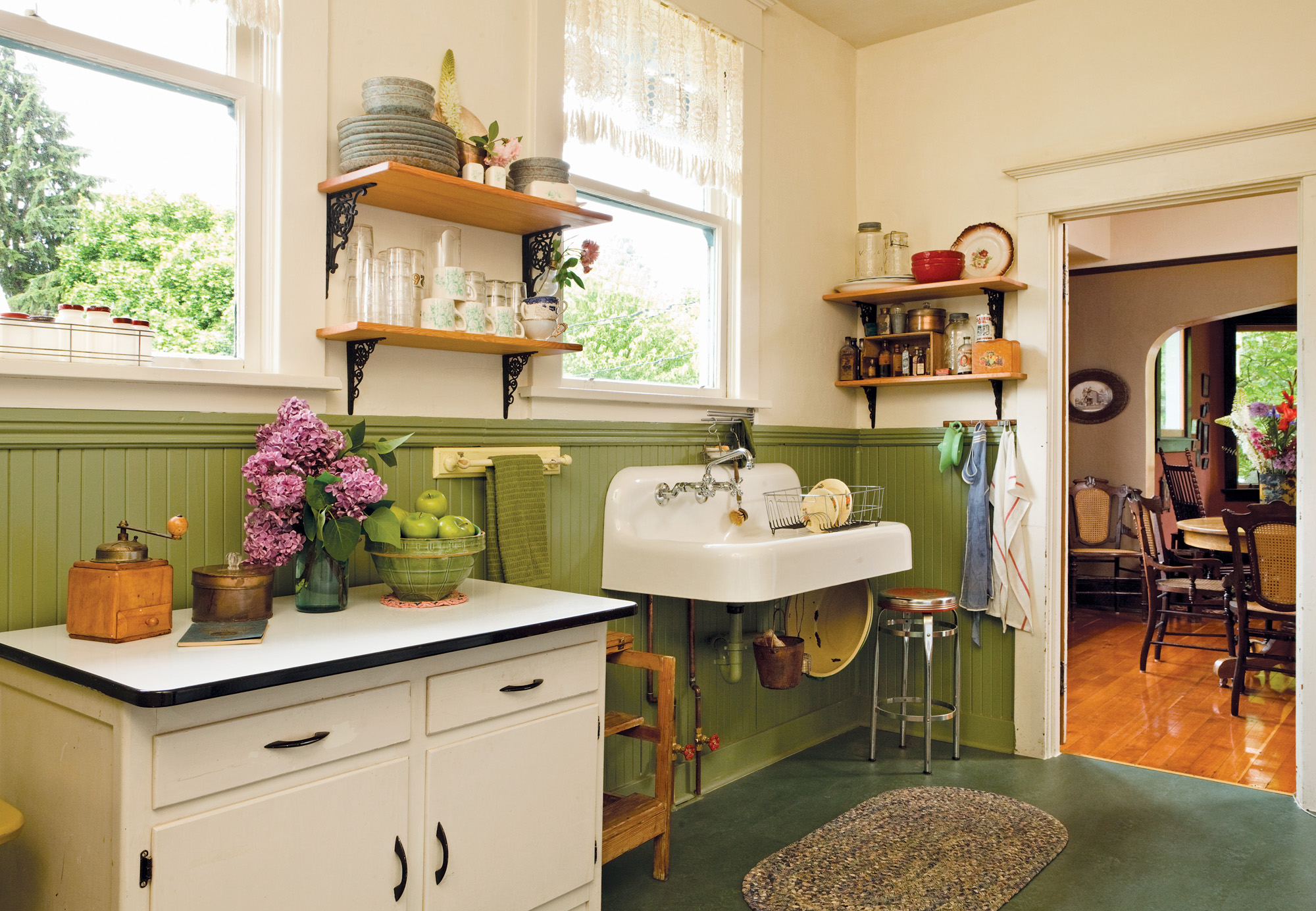 Vintage Style Kitchens True Vintage Kitchen Restoration And Design For The