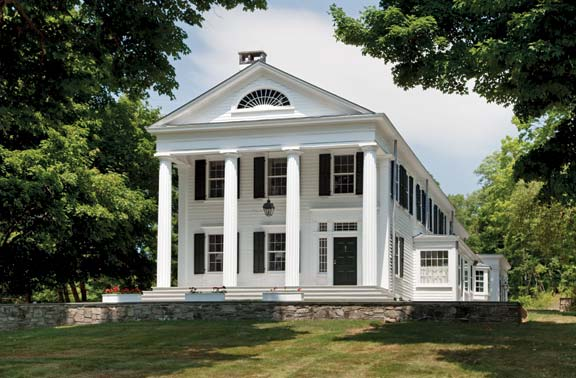 Greek Revival Farmhouse Architecture A Greek Revival Expansion Old House Journal Magazine