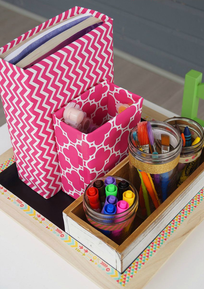 Organizer 2016 Diy School Supplies And Craft Organizer