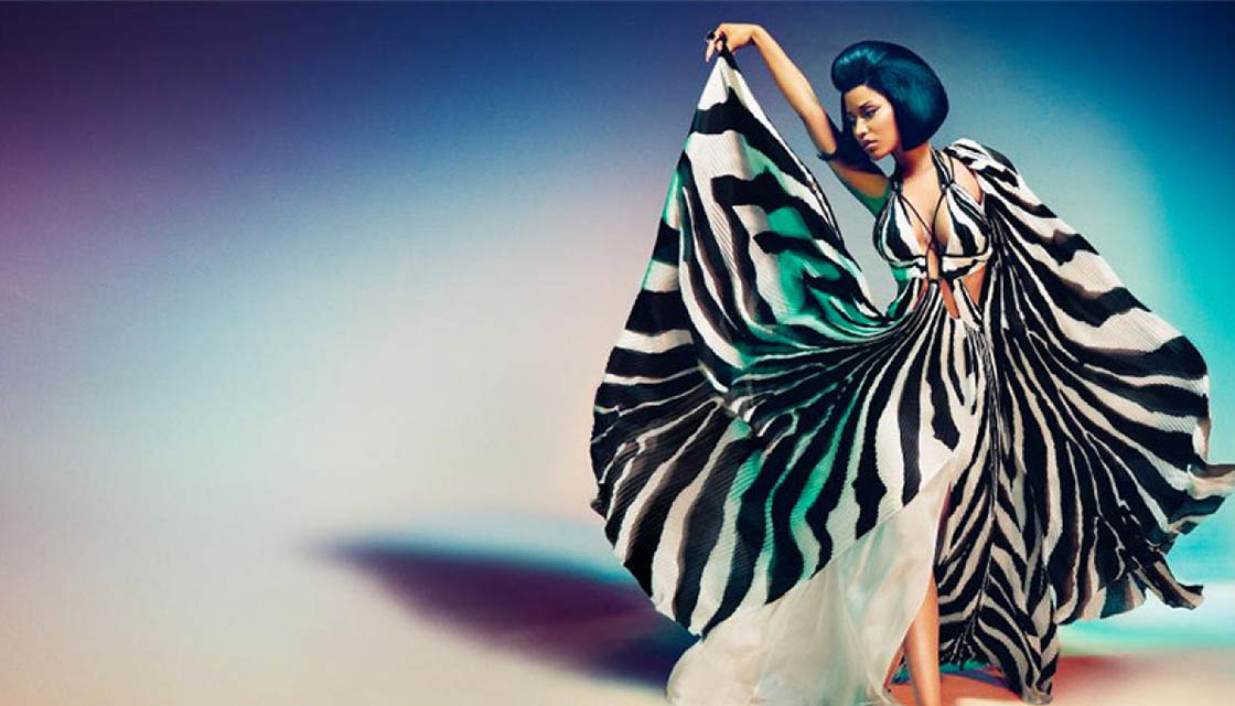 Nicki Minaj for Roberto Cavalli 4