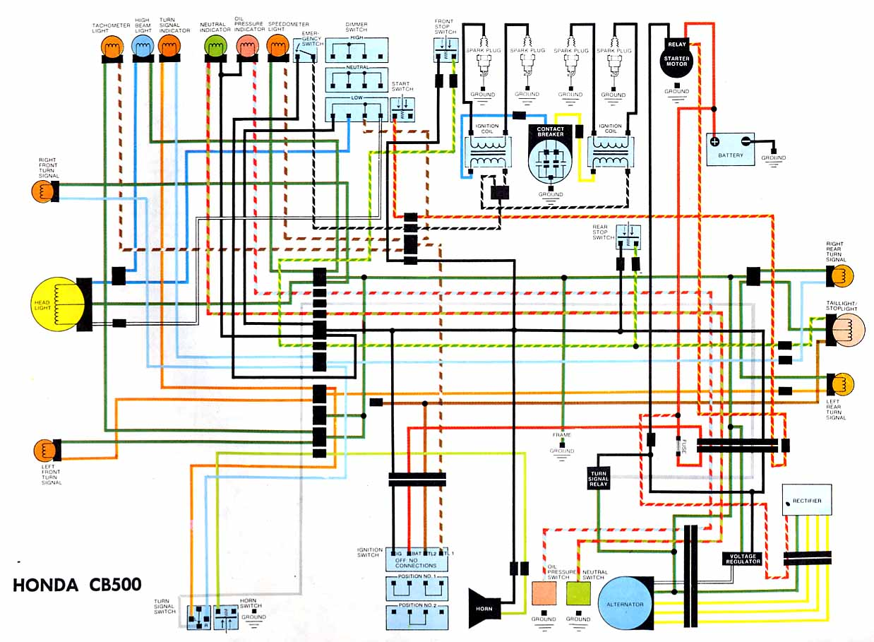 honda passport wiring diagram