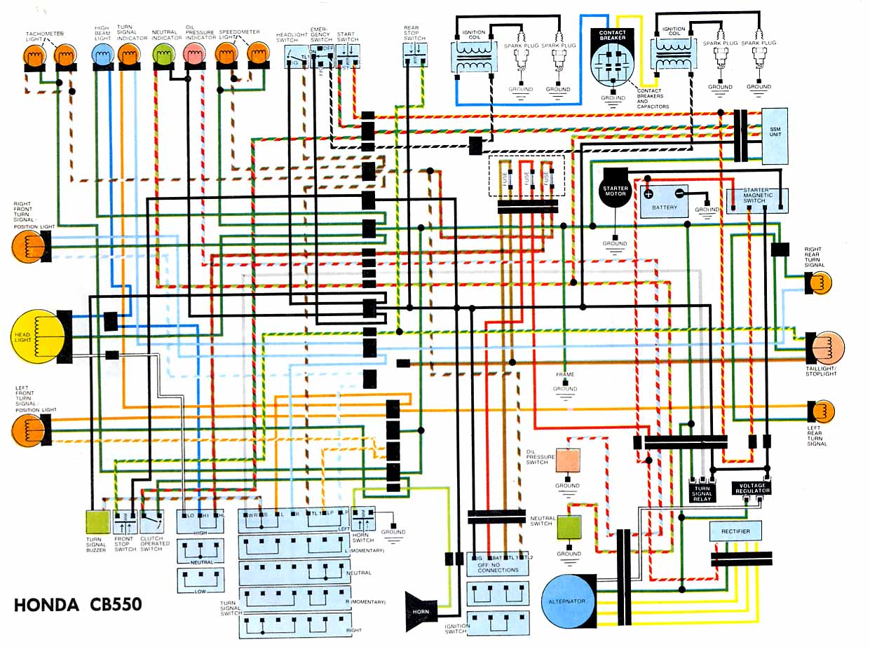 1974 Cb550 Wiring Diagram Auto Electrical Box Sterling Truck 04fuse