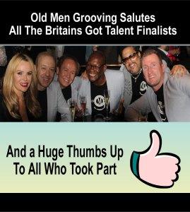 old men grooving salutes BGT finalists