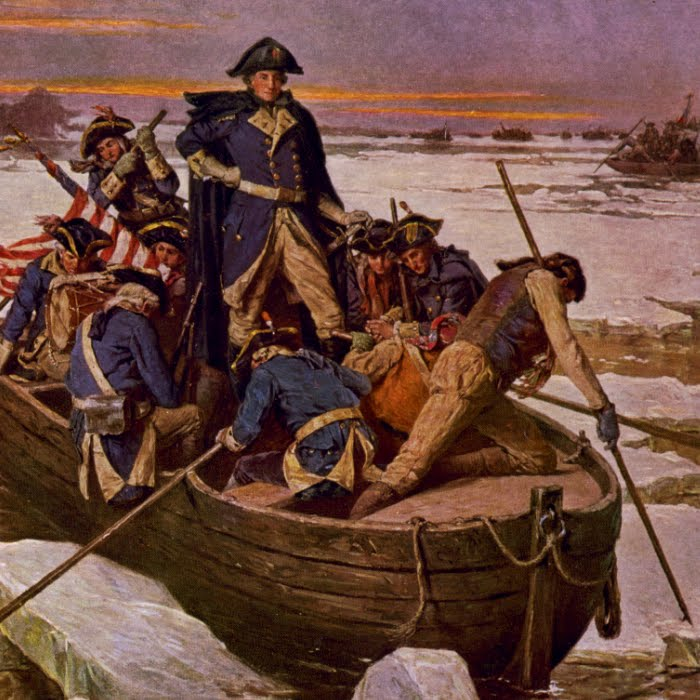 Washington Crossing the Delaware \u2013 The Pilgrimage Project