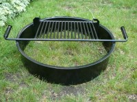 Steel Fire Pit Inserts Round & Square - Old Station ...